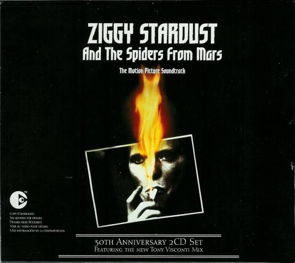 Okładka David Bowie - Ziggy Stardust And The Spiders From Mars - The Motion Picture Soundtrack (30th Anniversary 2CD Edition)