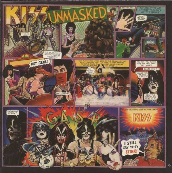 Okładka KISS - UNMASKED (REMASTERED)