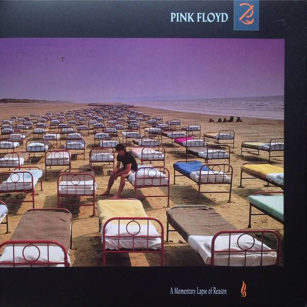 Okładka PINK FLOYD - A MOMENTARY LAPSE OF REASON (2011 REMASTERED)