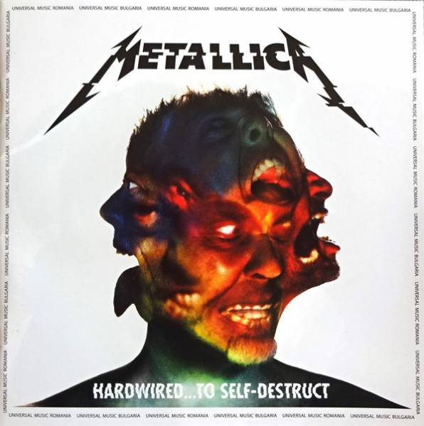 Okładka METALLICA - HARDWIRED...TO SELF-DESTRUCT (PL)