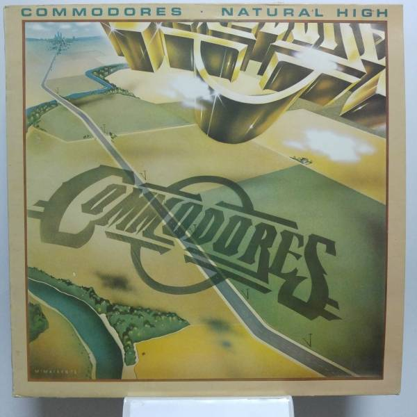Okładka Commodores - Natural High (LP)