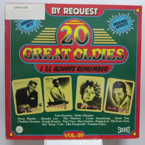 Okładka V/A - 20 Great Oldies - I'll Always Remember Vol. 20 (LP)
