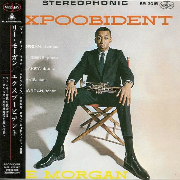Okładka Lee Morgan - Expoobident *JAPAN