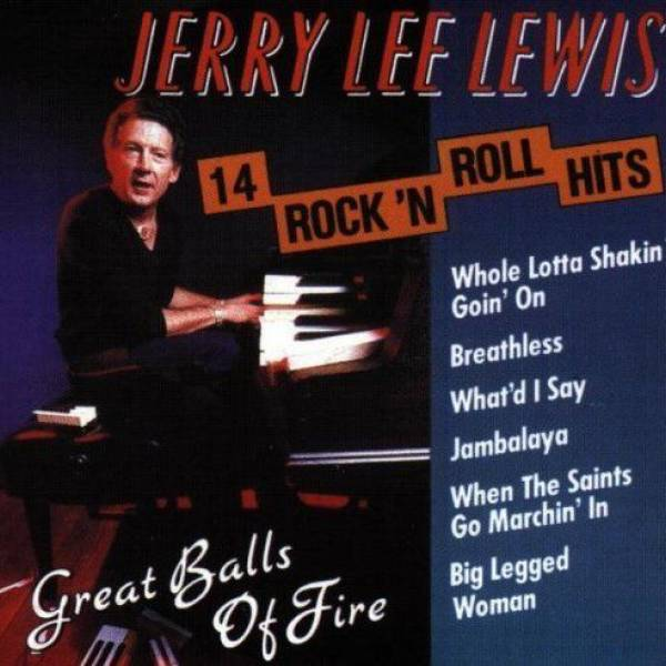 Okładka Jerry Lee Lewis - Great Balls Of Fire